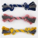 Jouet en corde à nœuds pour la mastication du chien et du chiot
